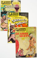 Golden Age (1938-1955):Classics Illustrated, Classics Illustrated Group of 3 (Gilberton, 1950s) Condition: Average FN.... (Total: 3 Comic Books)