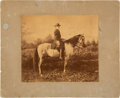 Photography:Cabinet Photos, Robert E. Lee: Large Mounted Albumen of Lee on Traveller....