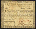 Colonial Notes:Rhode Island, Fully Signed Rhode Island July 2, 1780 $4 Very Fine.. ...