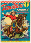 Golden Age (1938-1955):Western, Tom Mix Comics #1 (Ralston-Purina Co., 1940) Condition: GD....
