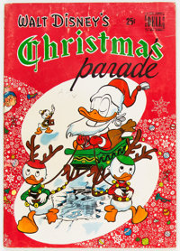 Dell Giant Comics Christmas Parade #1 (Dell, 1949) Condition: VG-