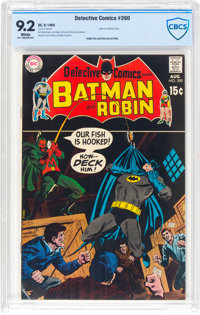 Detective Comics #390 (DC, 1969) CBCS NM- 9.2 White pages