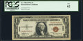 Fr. 2300 $1 1935A Hawaii Silver Certificate. PCGS New 62