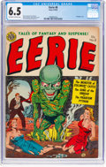 Golden Age (1938-1955):Horror, Eerie #8 (Avon, 1952) CGC FN+ 6.5 Off-white to white pages....