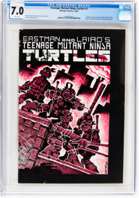 Teenage Mutant Ninja Turtles #1 (Mirage Studios, 1984) CGC FN/VF 7.0 White pages