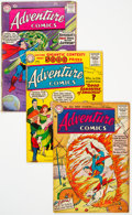 Silver Age (1956-1969):Superhero, Adventure Comics Group of 23 (DC, 1956-60) Condition: Average GD/VG.... (Total: 23 )