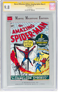 Marvel Milestone Edition: Amazing Spider-Man #1 (Marvel, 1993) CGC NM/MT 9.8 White pages