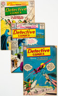 Silver Age (1956-1969):Superhero, Detective Comics Group of 22 (DC, 1955-60) Condition: Average GD.... (Total: 22 )