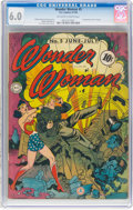 Golden Age (1938-1955):Superhero, Wonder Woman #5 (DC, 1943) CGC FN 6.0 Off-white to white pages....