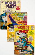 Silver Age (1956-1969):Superhero, World's Finest Comics Group of 18 (DC, 1955-60) Condition: Average GD/VG.... (Total: 18 )