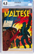 Golden Age (1938-1955):Crime, Feature Books #48 (David McKay Publications, 1946) CGC VG+ 4.5 Slightly brittle pages....