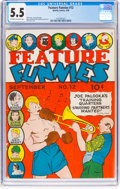 Golden Age (1938-1955):Humor, Feature Funnies #12 (Chesler, 1938) CGC FN- 5.5 Off-white to white pages....