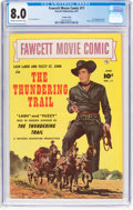 Golden Age (1938-1955):Western, Fawcett Movie Comic #11 The Thundering Trail - Crowley Copy Pedigree (Fawcett Publications, 1951) CGC VF 8.0 Cream to off-whit...