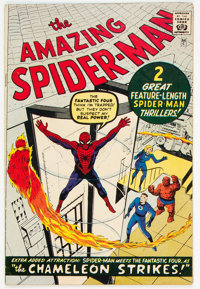 The Amazing Spider-Man #1 Golden Record Reprint (Marvel, 1966) Condition: FR