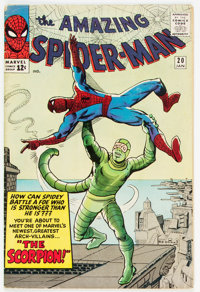The Amazing Spider-Man #20 (Marvel, 1965) Condition: VG+