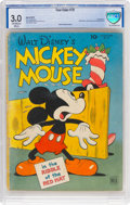 Four Color #79 Mickey Mouse (Dell, 1945) CBCS GD/VG 3.0 Off-white to white pages