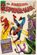 Silver Age (1956-1969):Superhero, The Amazing Spider-Man #21 (Marvel, 1965) Condition: FN....