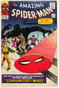 Silver Age (1956-1969):Superhero, The Amazing Spider-Man #22 (Marvel, 1965) Condition: FN....