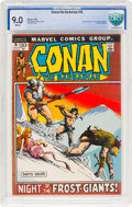 Bronze Age (1970-1979):Superhero, Conan the Barbarian #16 (Marvel, 1972) CBCS VF/NM 9.0 White pages....