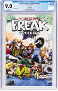 Modern Age (1980-Present):Alternative/Underground, The Fabulous Furry Freak Brothers #13 Third Printing (Rip Off Press, 1997) CGC VF/NM 9.0 White pages....