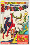Silver Age (1956-1969):Superhero, The Amazing Spider-Man Annual #1 (Marvel, 1964) Condition: VG-....