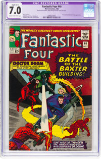 Fantastic Four #40 (Marvel, 1965) CGC Apparent FN/VF 7.0 Slight (C-1) Cream to off-white pages
