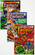 Silver Age (1956-1969):Superhero, Fantastic Four Annual #4 and 6-10 Group (Marvel, 1966-72) Condition: Average FN/VF.... (Total: 6 Comic Books)