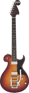 Musical Instruments:Electric Guitars, 2012 Bigsby S-50 Sunburst Solid Body Electric Guitar, Serial #022S50-5.. ...