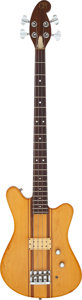 Musical Instruments:Bass Guitars, 1982 Martin EB-18 Natural Electric Bass Guitar, Serial # 2511....