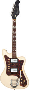Musical Instruments:Electric Guitars, Circa 1966 Supro Arlington White Solid Body Electric Guitar, Serial # I85683....