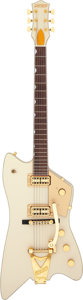 Musical Instruments:Electric Guitars, 2007 Gretsch 6199WP Billy Bo Cream Solid Body Electric Guitar,Serial # JT07020679....