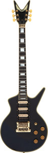 Musical Instruments:Electric Guitars, 1983 Dean Cadillac Black Solid Body Electric Guitar, Serial # 83 07387.. ...