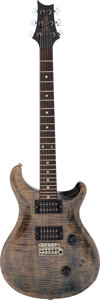 Musical Instruments:Electric Guitars, 1985 Paul Reed Smith (PRS) Custom 24 Faded Blue Jean Solid Body Electric Guitar, Serial # 5 0328....