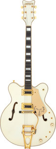Musical Instruments:Electric Guitars, 1979 Gretsch 7595 White Falcon White Semi-Hollow Body Electric Guitar, Serial # 9-0428....