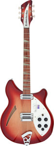 Musical Instruments:Electric Guitars, 2000 Rickenbacker 360 CW Carl Wilson Limited Edition FiregloSemi-Hollow Body Electric Guitar, Serial # 0013873....