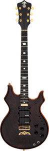 Musical Instruments:Electric Guitars, 2003 Alembic Tribute TLG6 Natural Solid Body Electric Guitar,Serial # 03T12956 USA....
