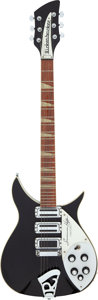 Musical Instruments:Electric Guitars, 1989 Rickenbacker Susanna Hoffs Limited Edition Black Solid Body Electric Guitar, Serial # J2 6478....