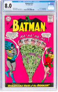 Batman #171 (DC, 1965) CGC VF 8.0 Off-white to white pages