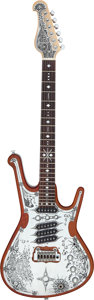 Musical Instruments:Electric Guitars, Circa 2013 Teye Gypsy Queen Natural Solid Body Electric Guitar....