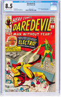 Silver Age (1956-1969):Superhero, Daredevil #2 (Marvel, 1964) CGC VF+ 8.5 Off-white to white pages....