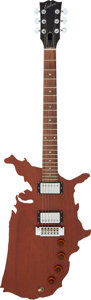 Musical Instruments:Electric Guitars, 1982 Epiphone Map Natural Solid Body Electric Guitar, Serial # 82602021....