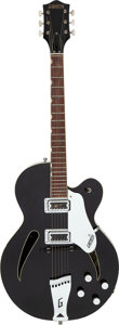 Musical Instruments:Electric Guitars, 1964 Gretsch Custom Black Semi-Hollow Body Electric Guitar.. ...