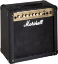 Musical Instruments:Amplifiers, PA, & Effects, Modern Marshall MG15CDR Black Guitar Amplifier, Serial # K-2004-46-2066-U....