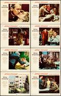 """Movie Posters:Hitchcock, Rear Window (Paramount, 1954). Very Fine. Lobby Card Set of 8 (11"""" X 14"""").. ... (Total: 8 Items)"""