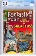 Silver Age (1956-1969):Superhero, Fantastic Four #48 (Marvel, 1966) CGC VG- 3.5 White pages....