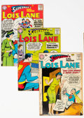 Silver Age (1956-1969):Superhero, Superman's Girlfriend Lois Lane and Related Group of 9 (DC, 1958-59) Condition: Average VG-.... (Total: 9 )