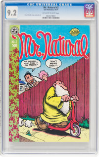 Mr. Natural #2 First Print (San Francisco Comic Book Company, 1971) CGC NM- 9.2 Off-white to white pages
