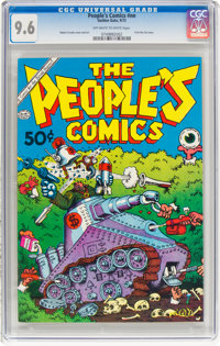 The People's Comics #nn (Golden Gate, 1972) CGC NM+ 9.6 Off-white to white pages