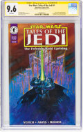 Modern Age (1980-Present):Science Fiction, Star Wars: Tales of the Jedi #1 Signature Series (Dark Horse, 1994)CGC NM+ 9.6 White pages....