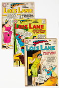 Silver Age (1956-1969):Superhero, Superman's Girlfriend Lois Lane Group of 12 (DC, 1958-60) Condition: Average GD+.... (Total: 12 )